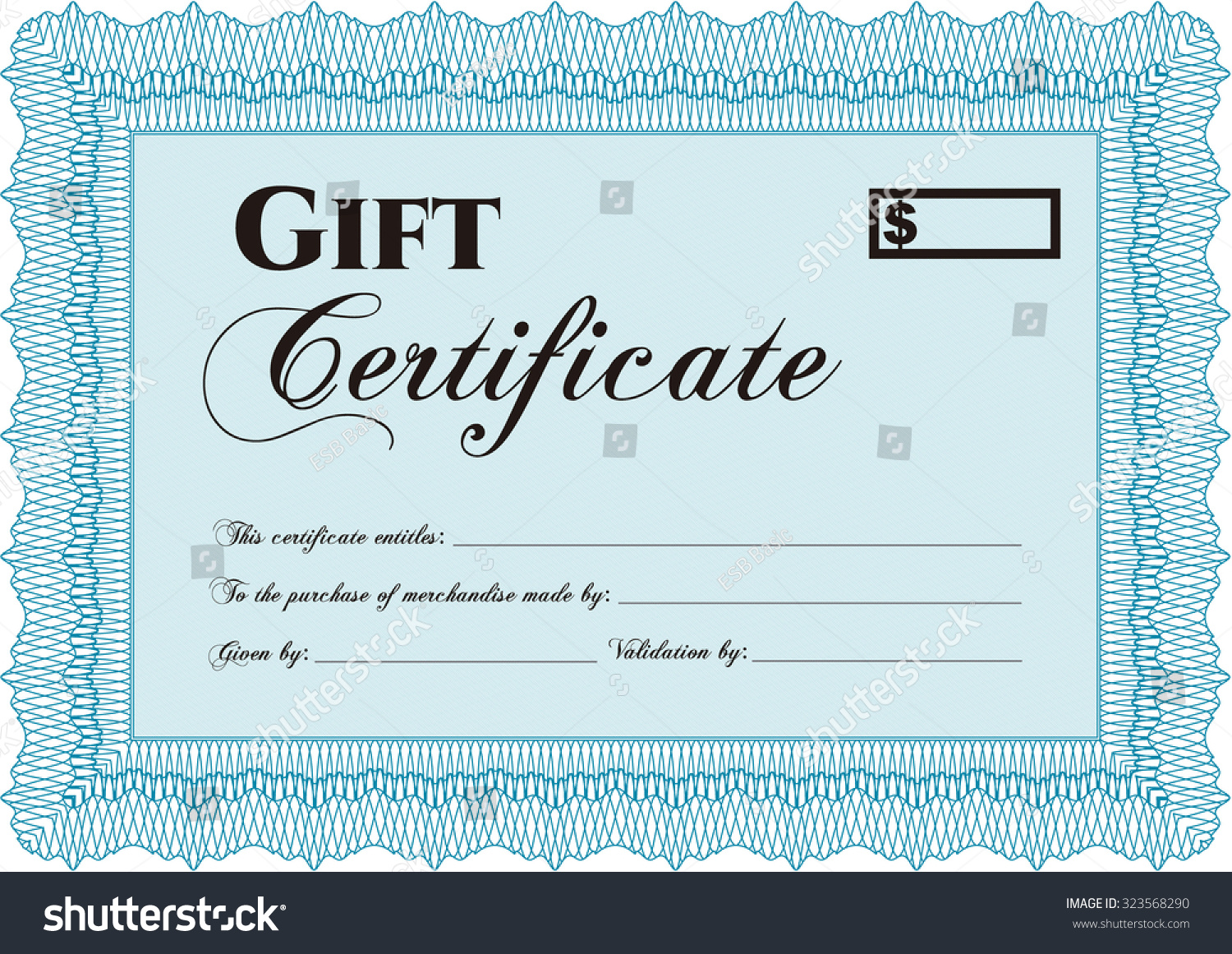 Gift certificate template water treatment in africa diagram 2002 formal gift certificate template excellent design stock vector stock vector formal gift certificate template excellent design xflitez Gallery