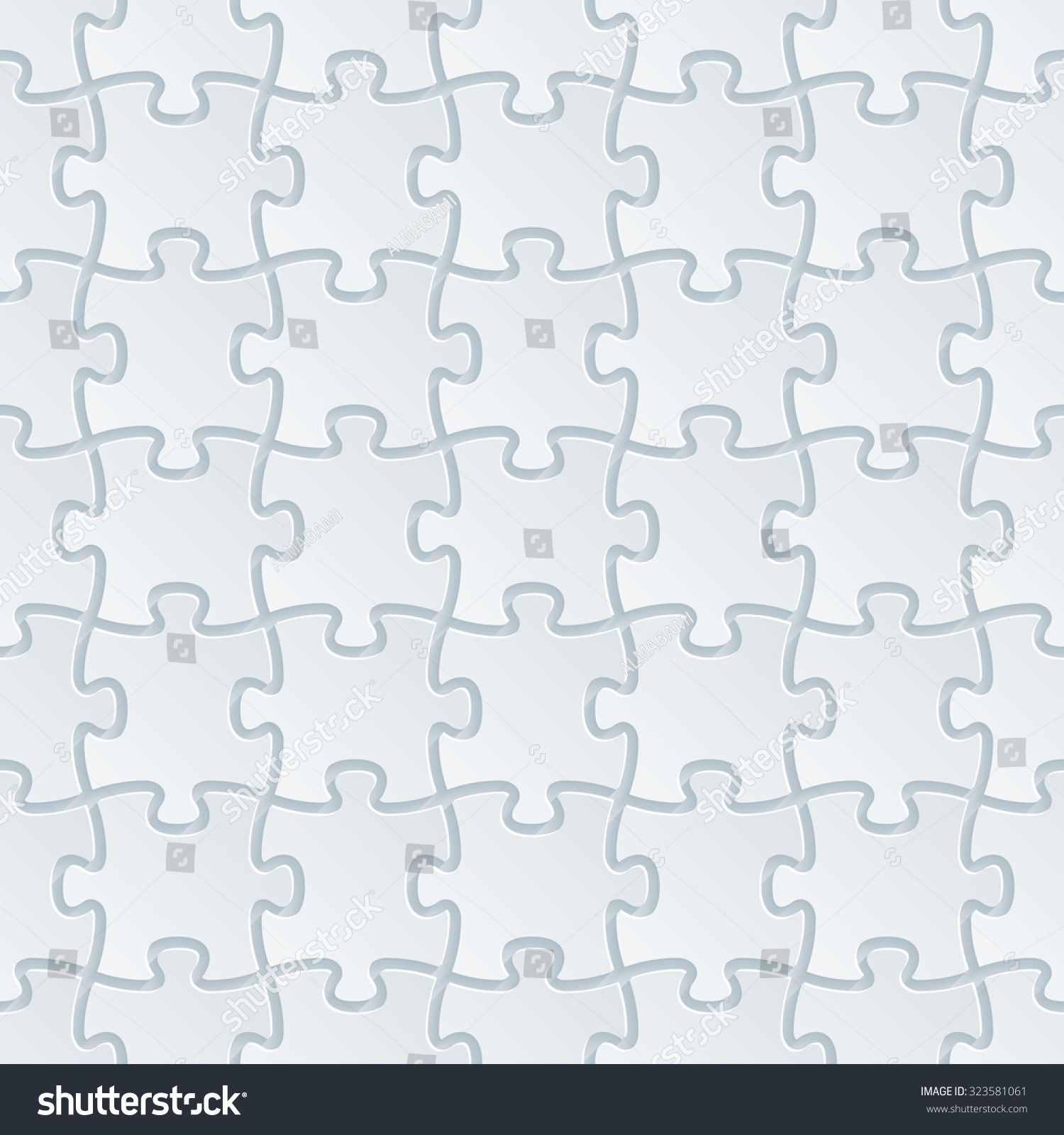 royalty free jigsaw puzzle white perforated paper u2026 323581061