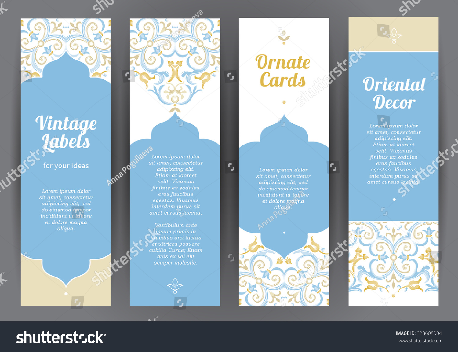 Royalty free ornate vintage cards pastel decor in 323608004 stock template frame for greeting card invitation leaflet poster sale decor business card sticker badge vector border with place for text stock photo kristyandbryce Image collections