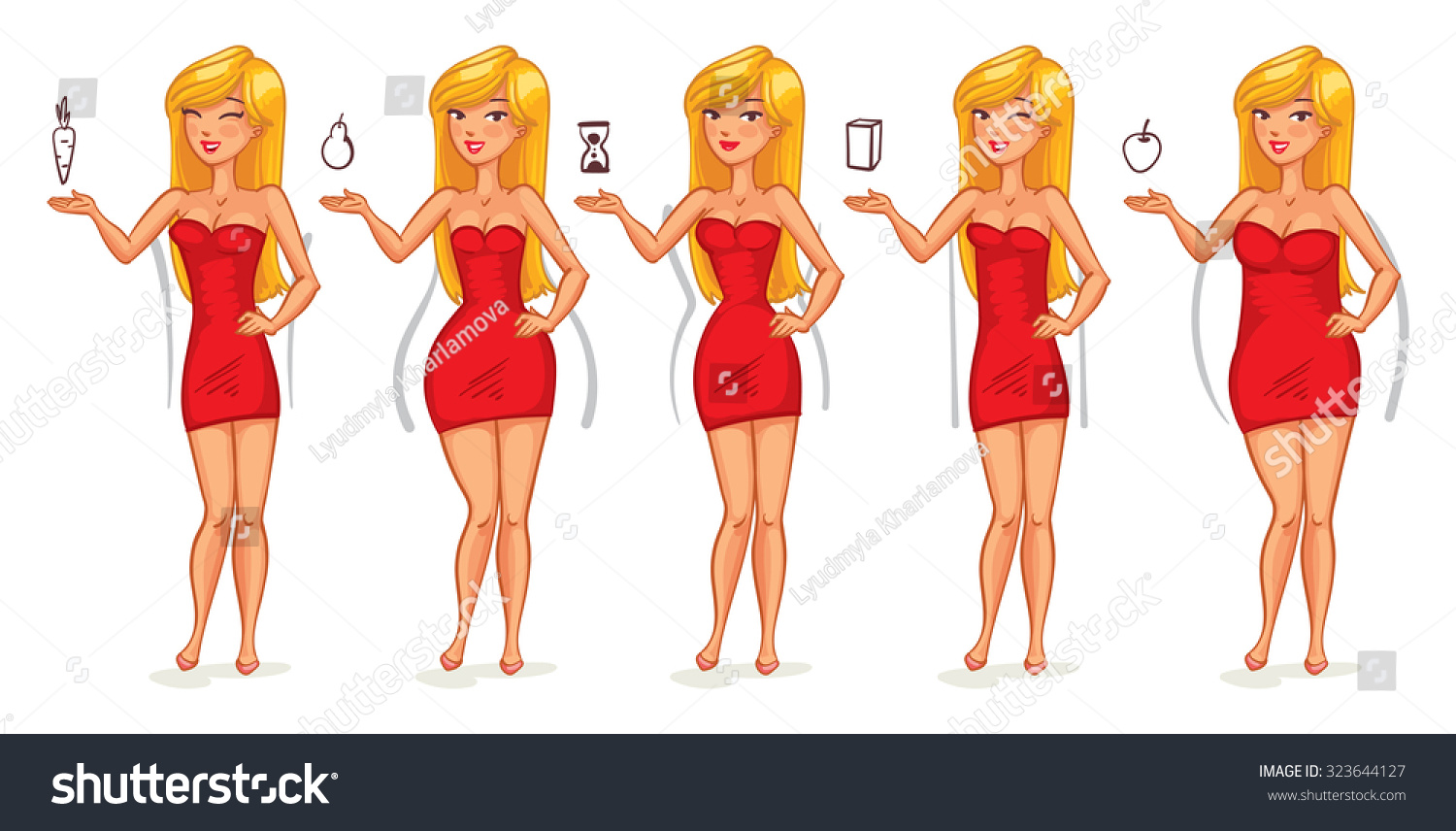 how to get perfect body shape for female