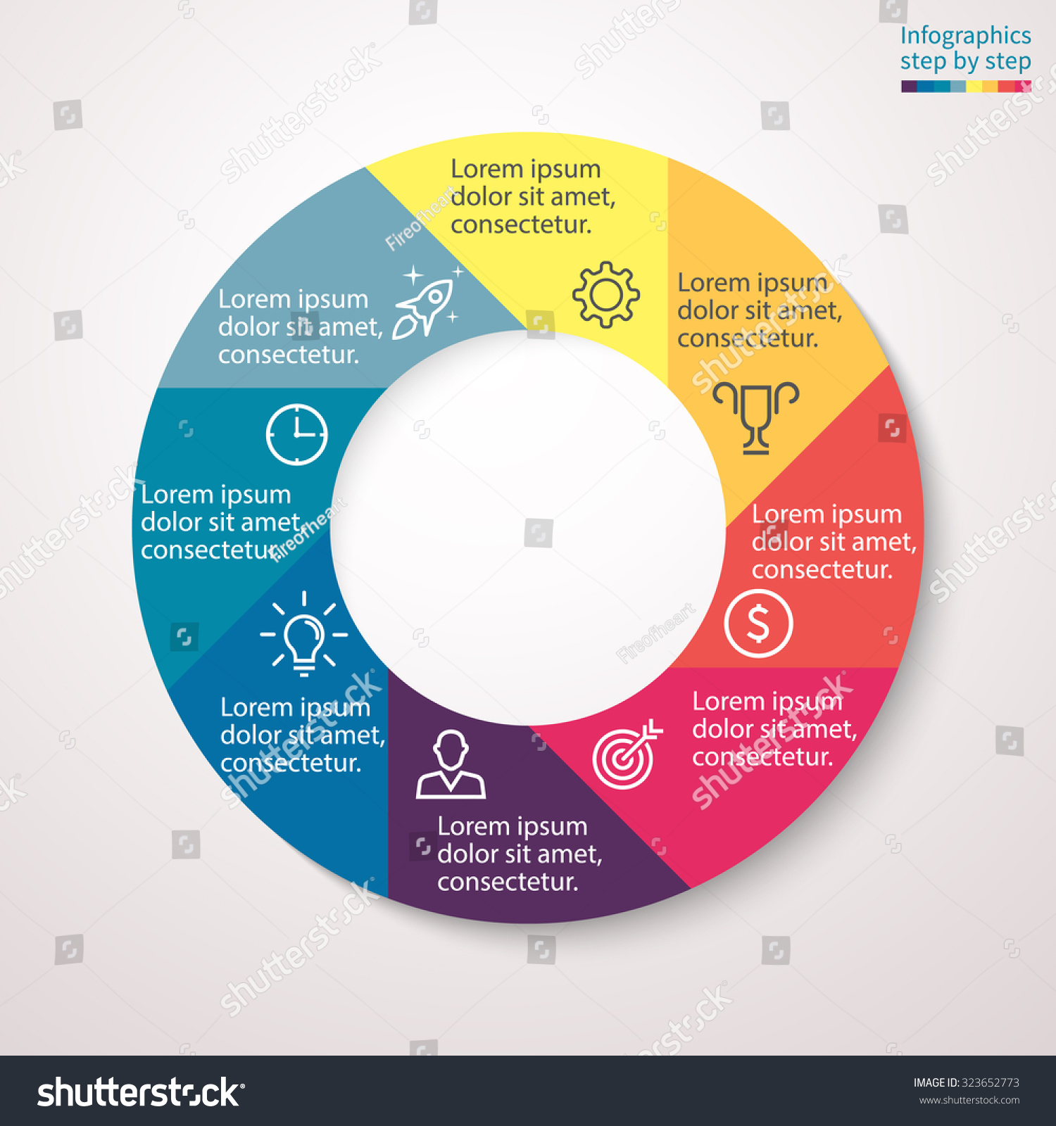 pie chart  graph  diagram with  steps  options   s  processes    save to a lightbox