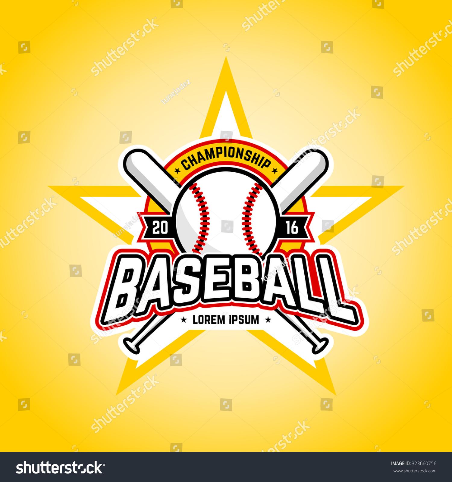 baseball tour nt professional logo vector design stock vector baseball tour nt professional logo vector design template