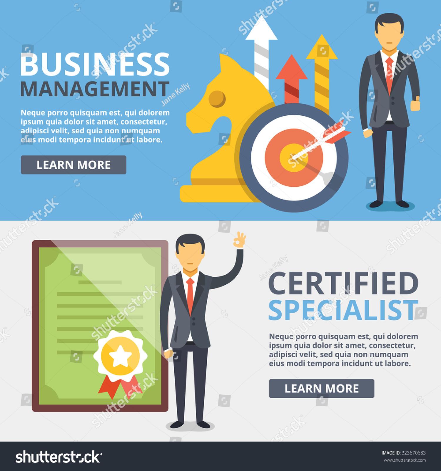 business management certified specialist flat