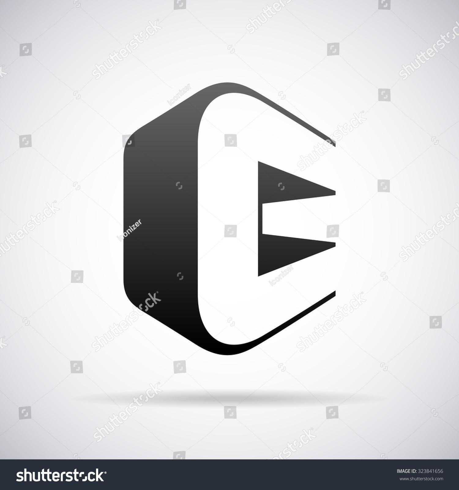 Logo Letter C Design Template Stock Vector 323841656 - Shutterstock