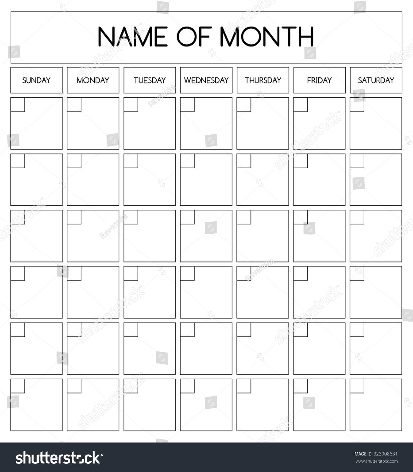 month by month planner