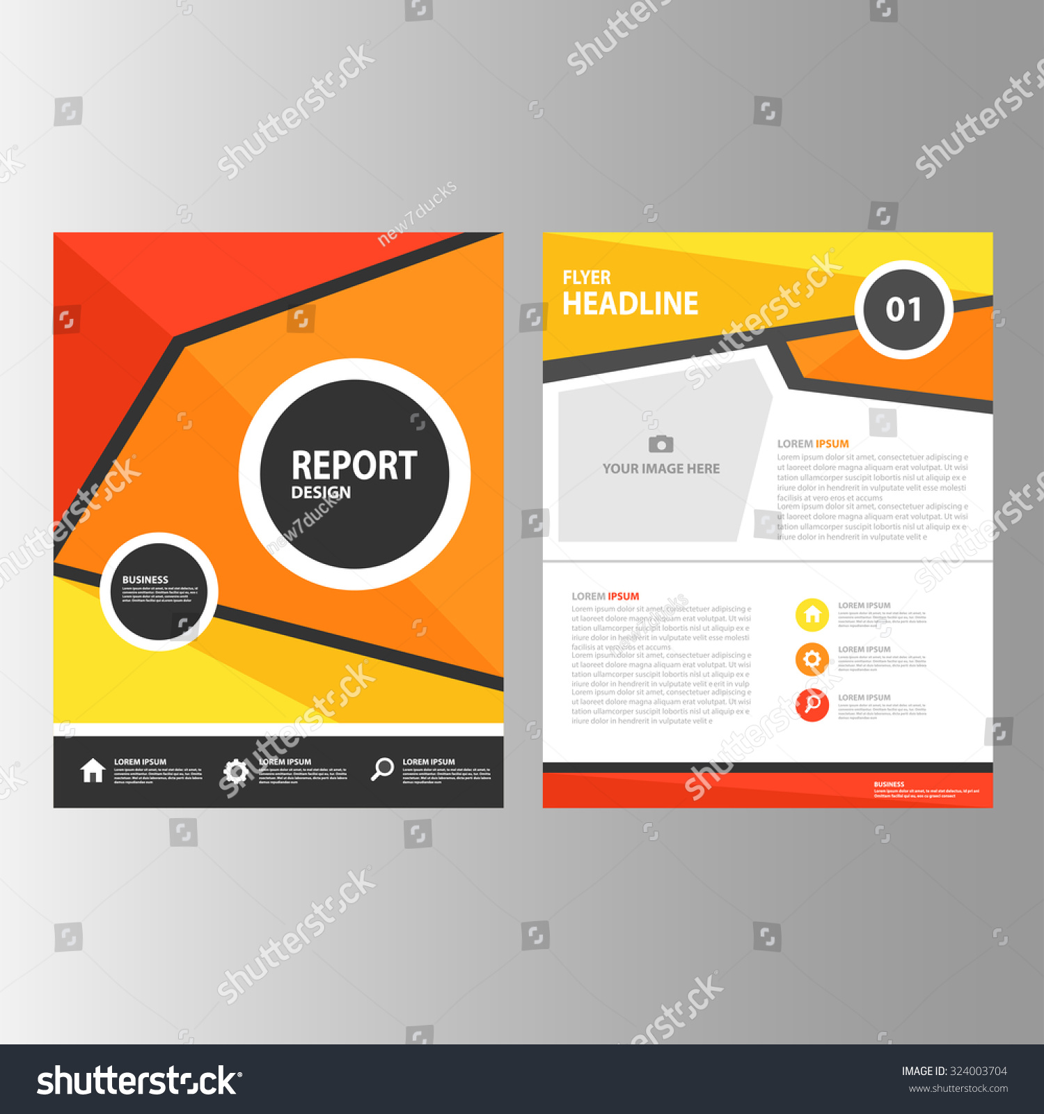 red orange yellow abstract annual report stock vector 324003704 red orange yellow abstract annual report brochure flyer template layout design a4 size for marketing advertising