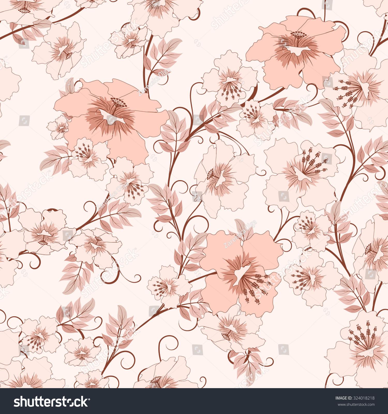 illustration soft floral - photo #17