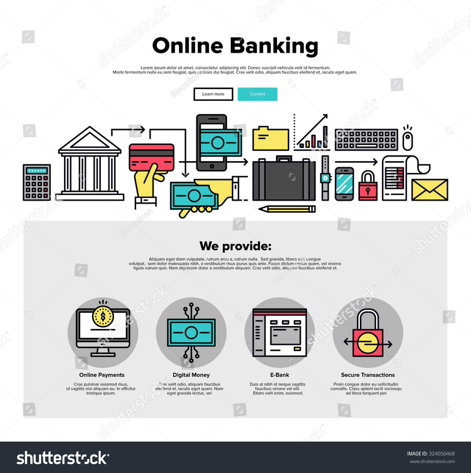 Image gallery online banking services for Online architect services
