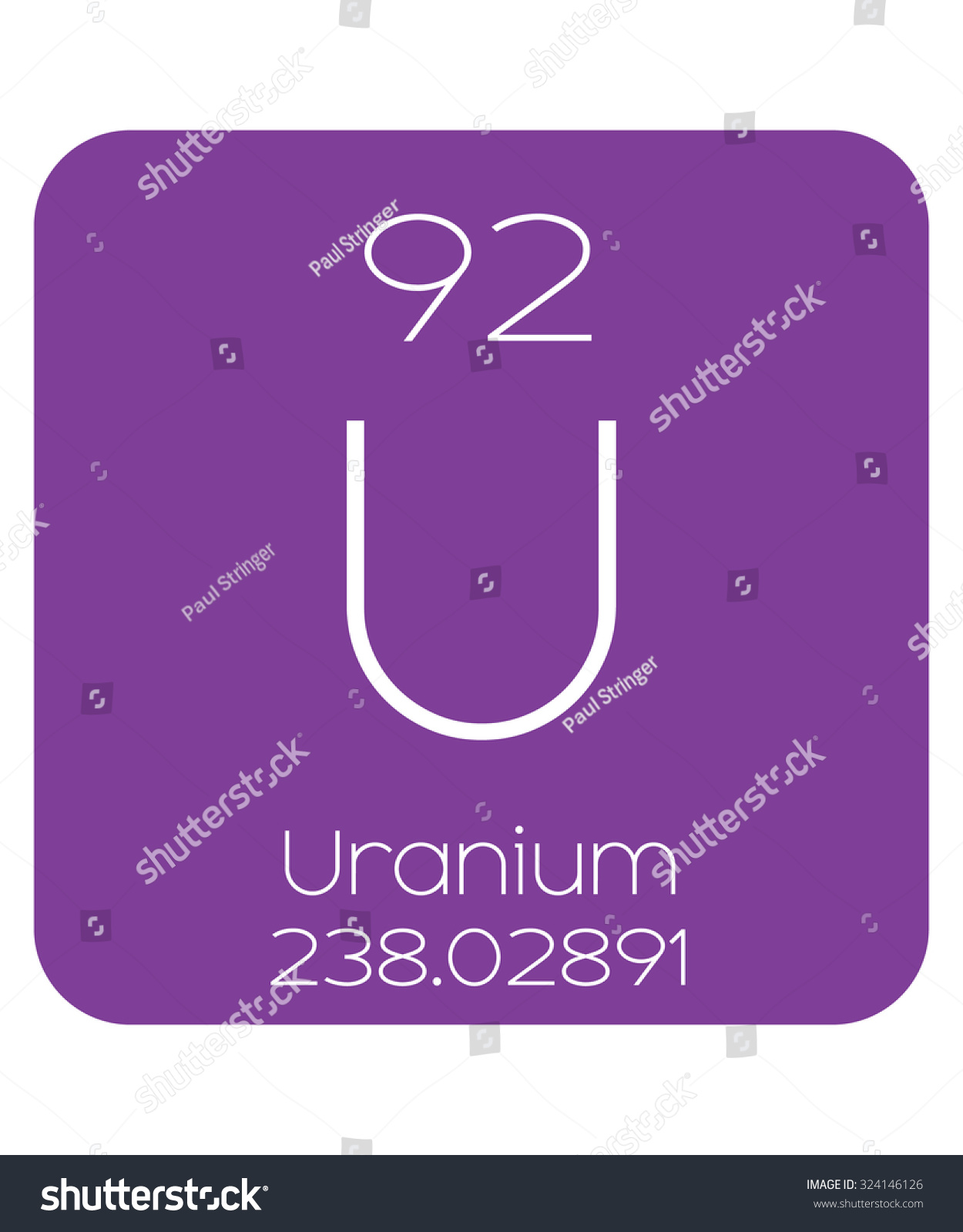 Periodic table elements uranium stock illustration 324146126 the periodic table of the elements uranium gamestrikefo Image collections