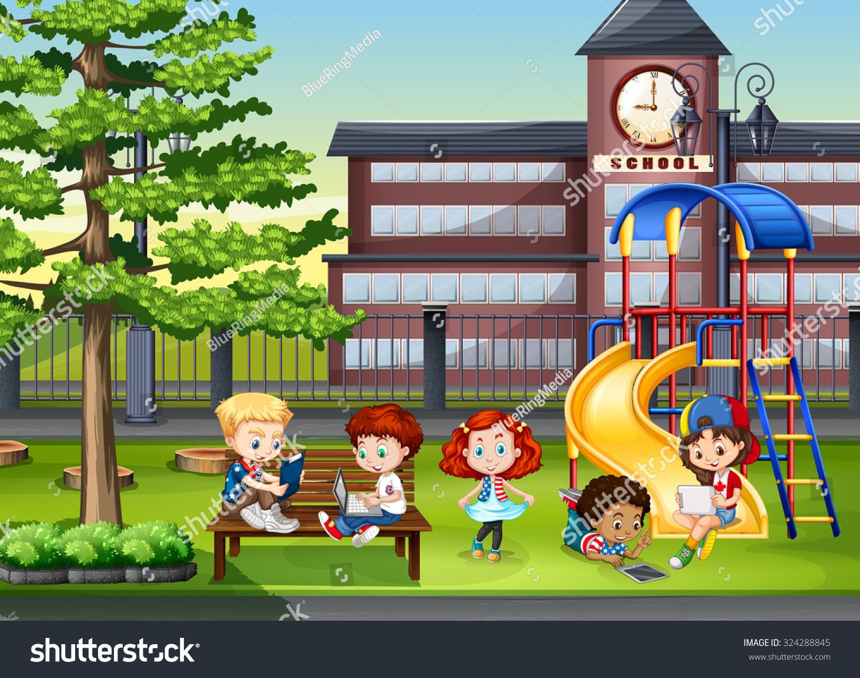 school recess clipart - photo #46