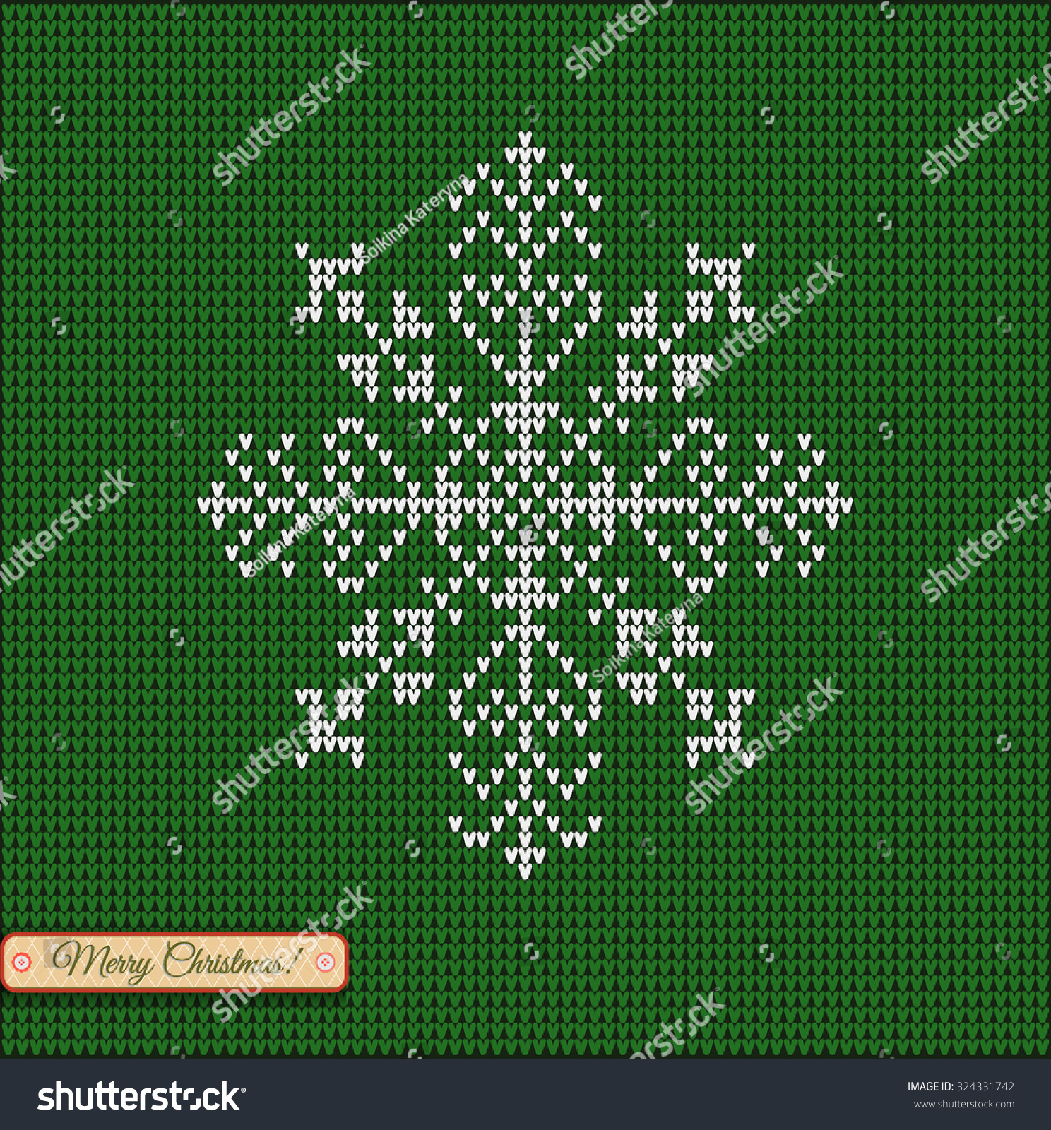 Snowflake Jumper Knitting Pattern : Christmas Star Snowflake Merry Christmas Scandinavian Stock Vector 324331742 ...