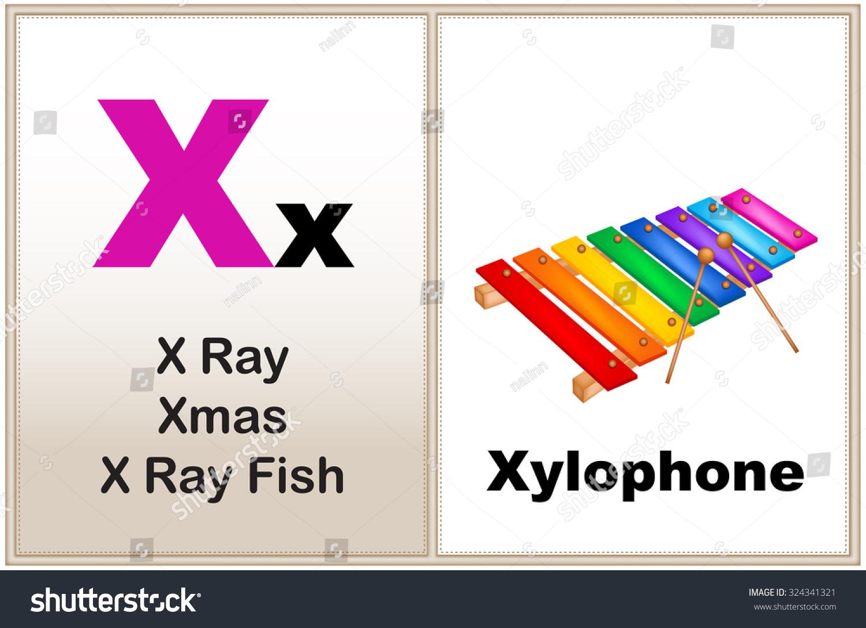 Alphabet Letter X Clipart Few Similar Stock Illustration 324341321