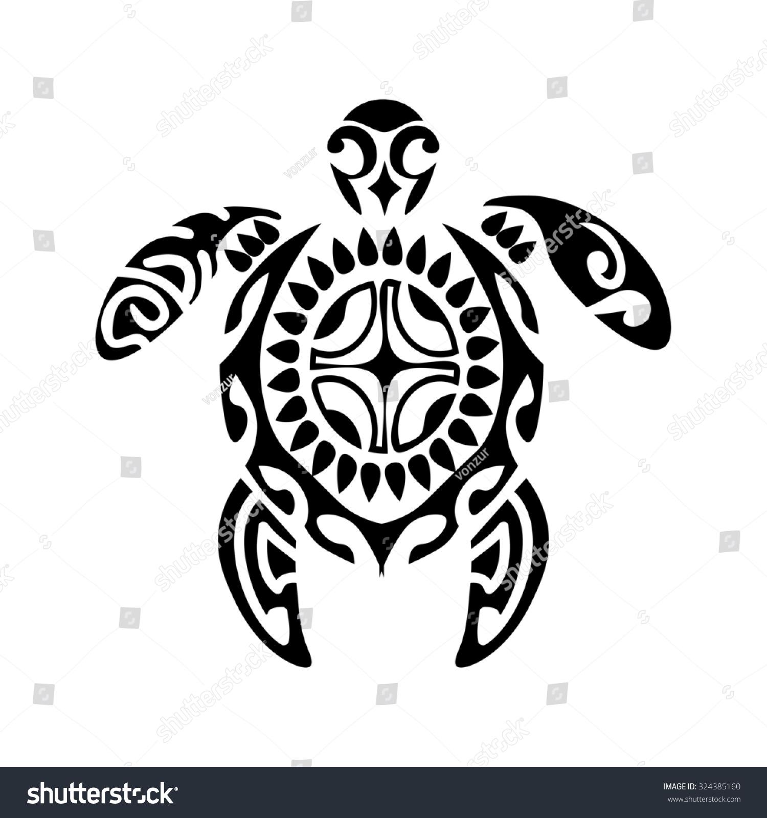 Maori Tattoo Design Stock Photos: Use To Design And Tattoo. Maori