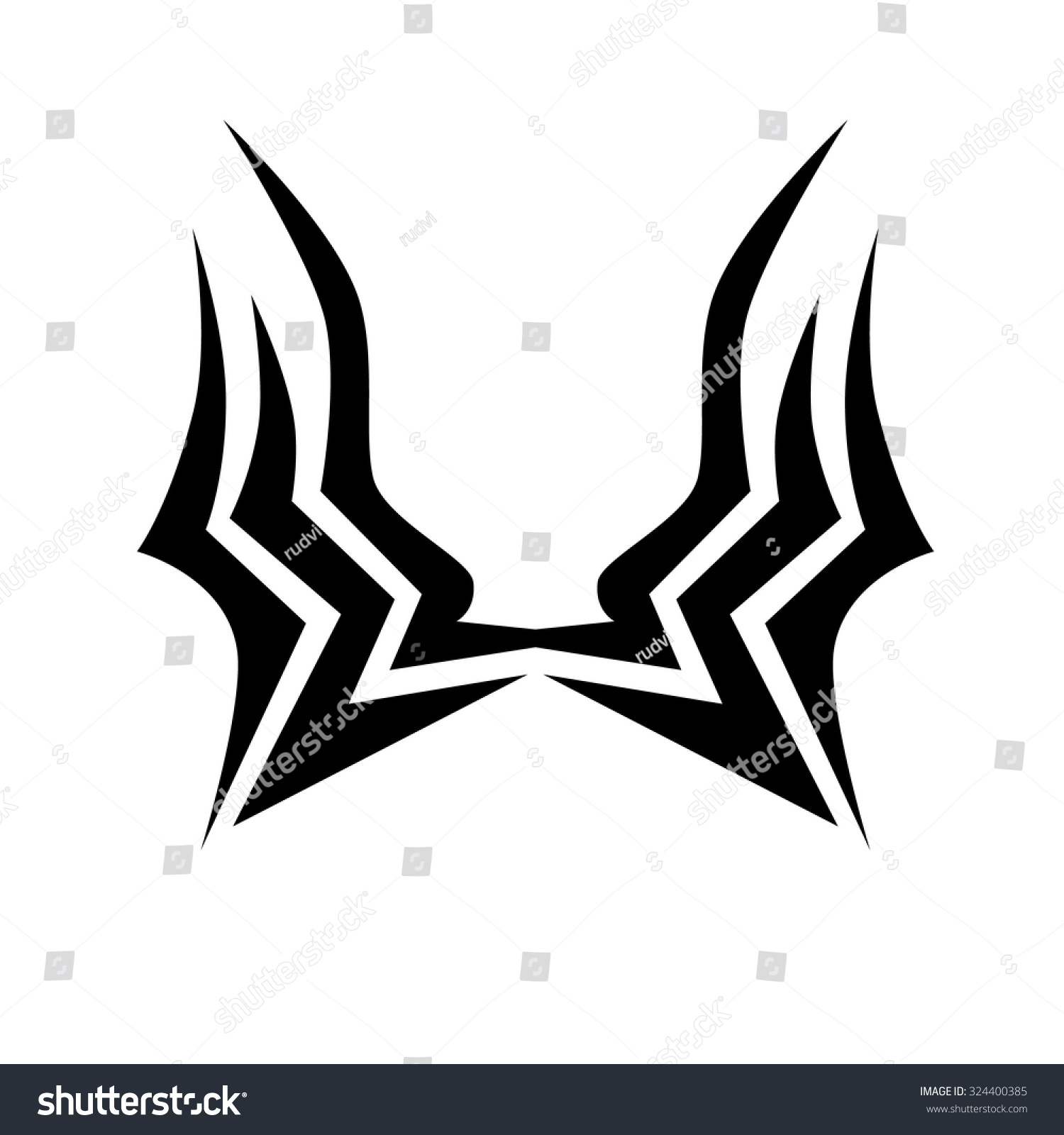 Tribal-Tattoos stock-vector-vector-tribal-tattoo-designs-tribal-tattoos-art-tribal-tattoo-vector-sketch-of-a-tattoo-324400385