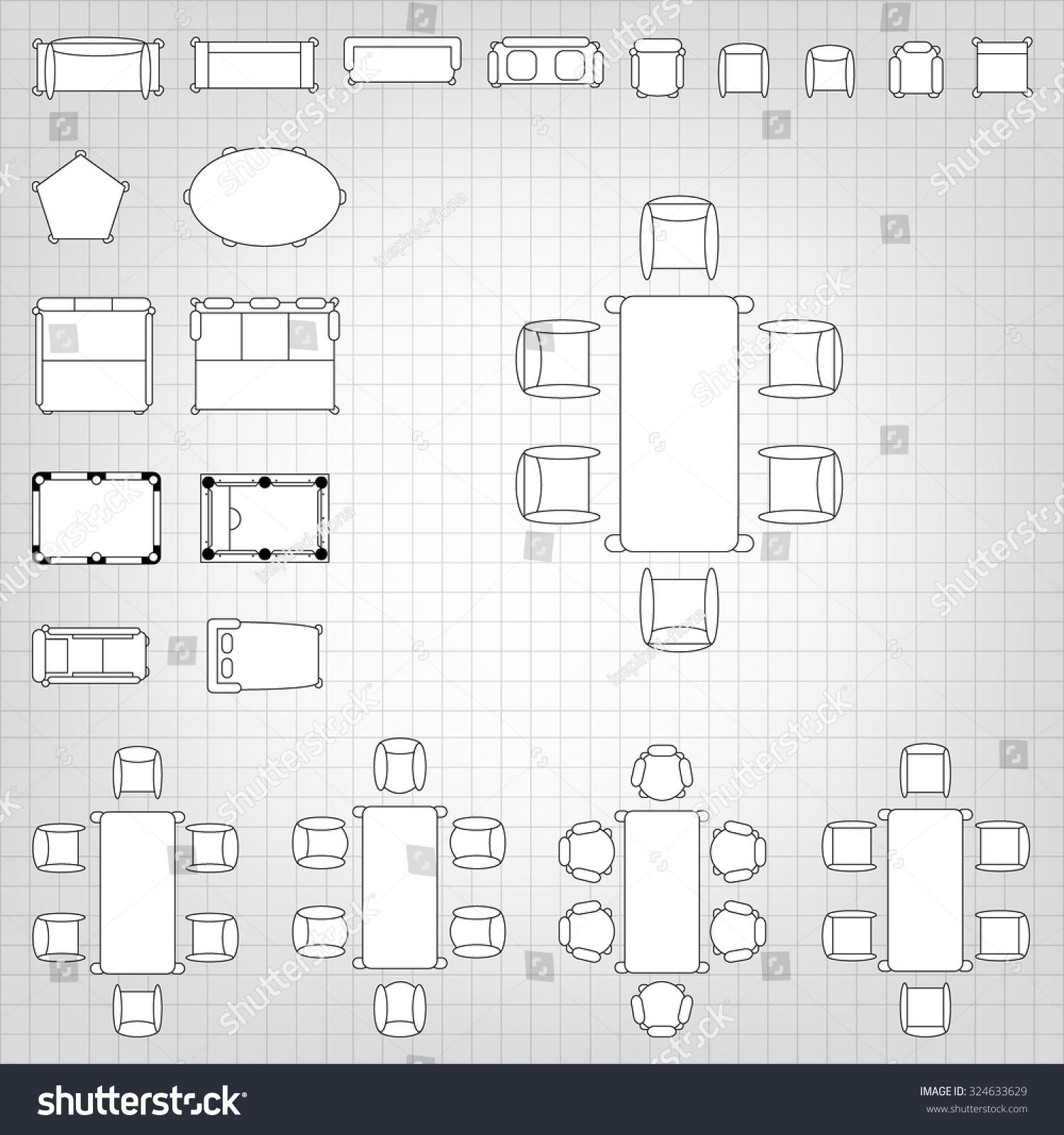 set simple 2d flat vector icons stock vector 324633629 shutterstock