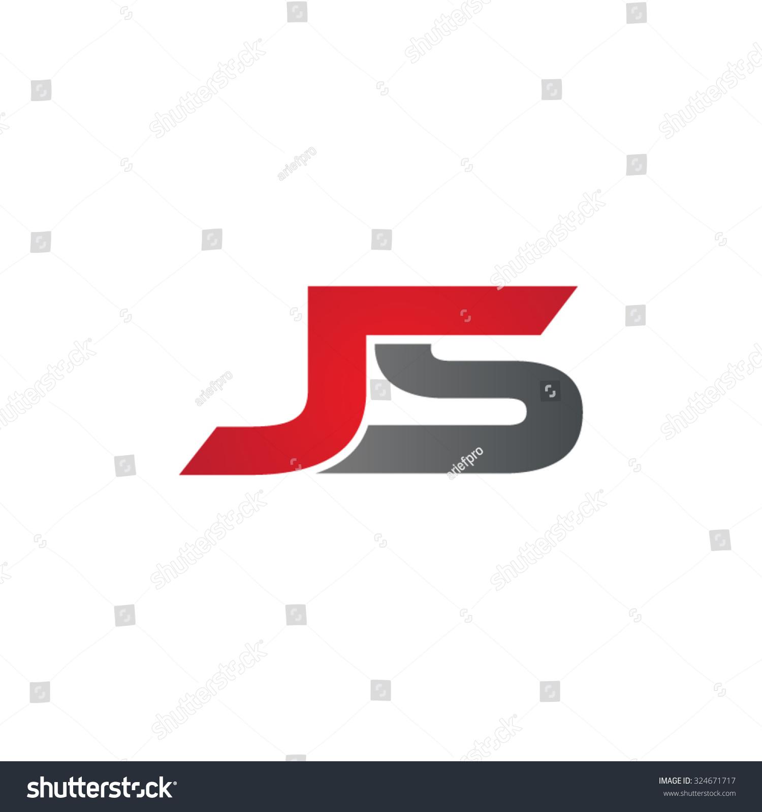 Js Logo js company linked letter logo stock vector illustration ...