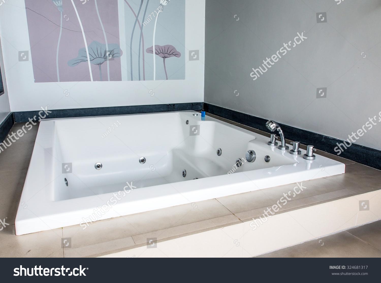 Luxury Jacuzzi Bathtub Stock Photo (Edit Now) 324681317 - Shutterstock
