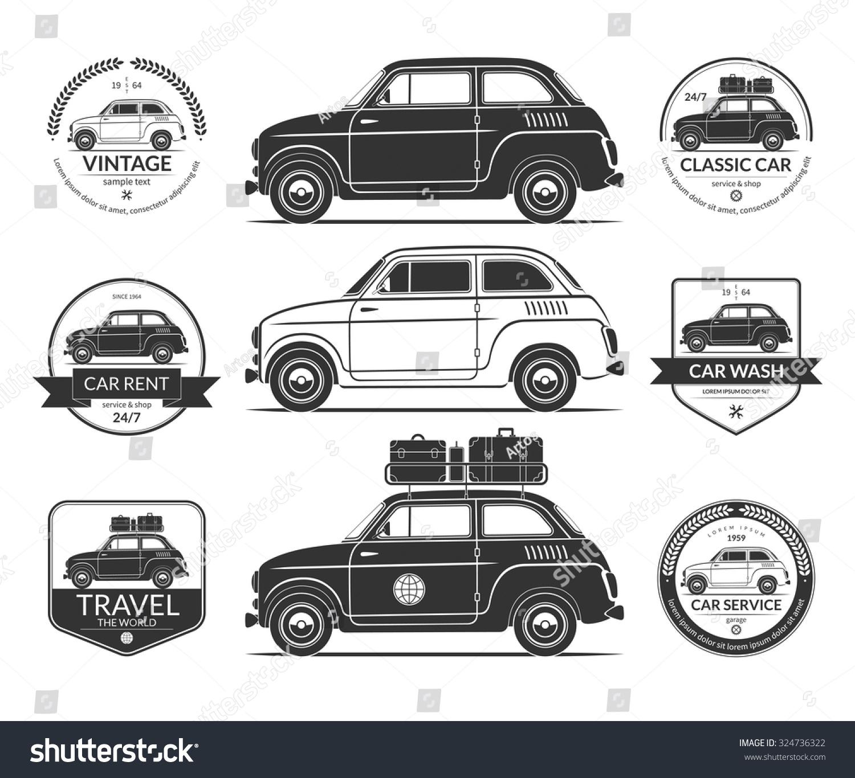 1000+ Images About Vintage Car Vector On Pinterest