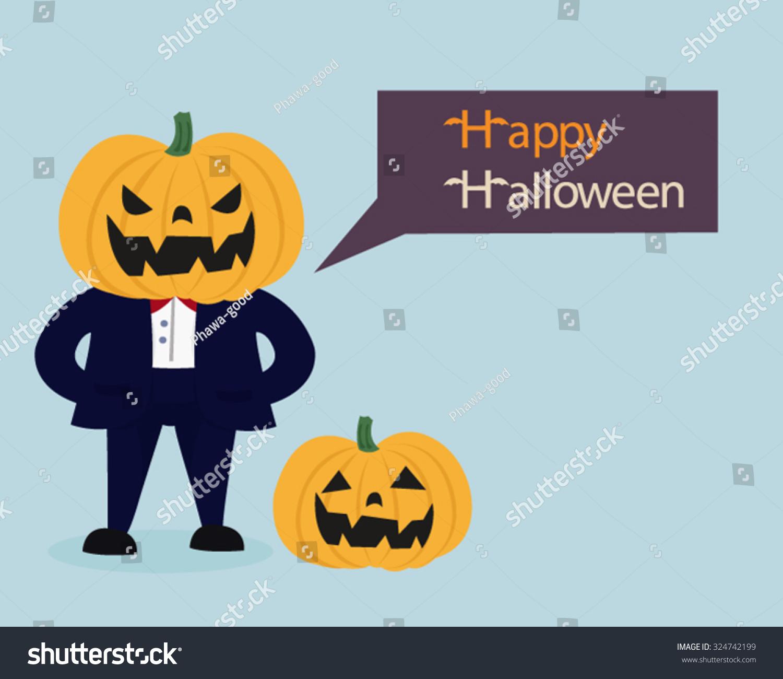 Pumpkin Man Saying  Design Inspirations