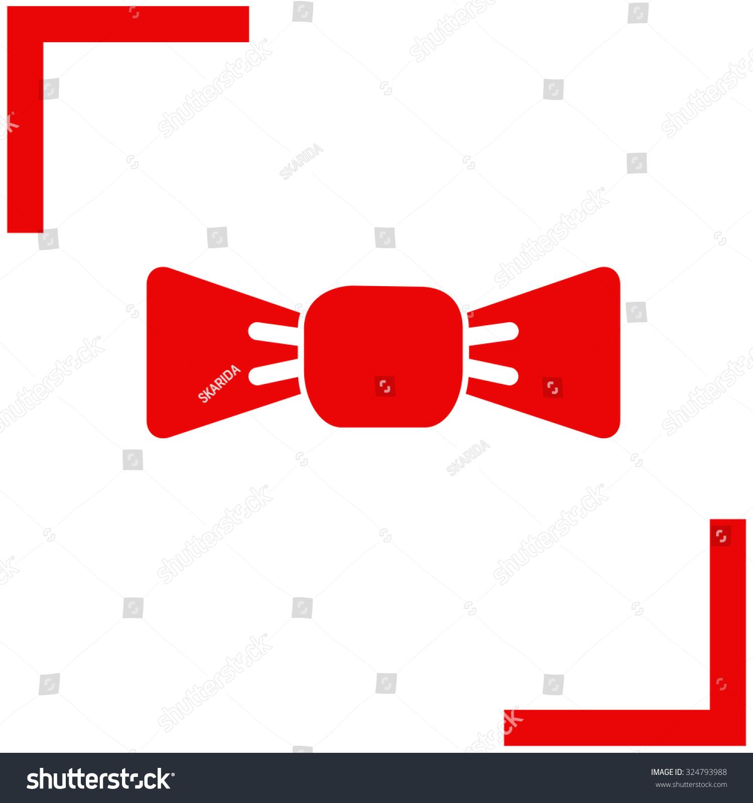 Bow Tie Vector Icon Business Symbol Ez Canvas