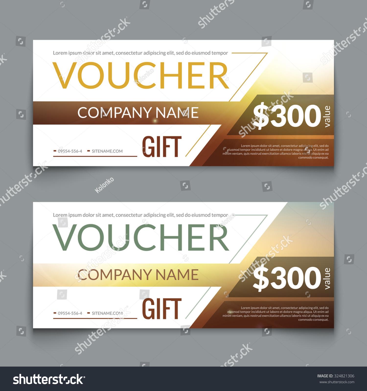 Discount Voucher Market Design Template Colorful Vector – Discount Voucher Design