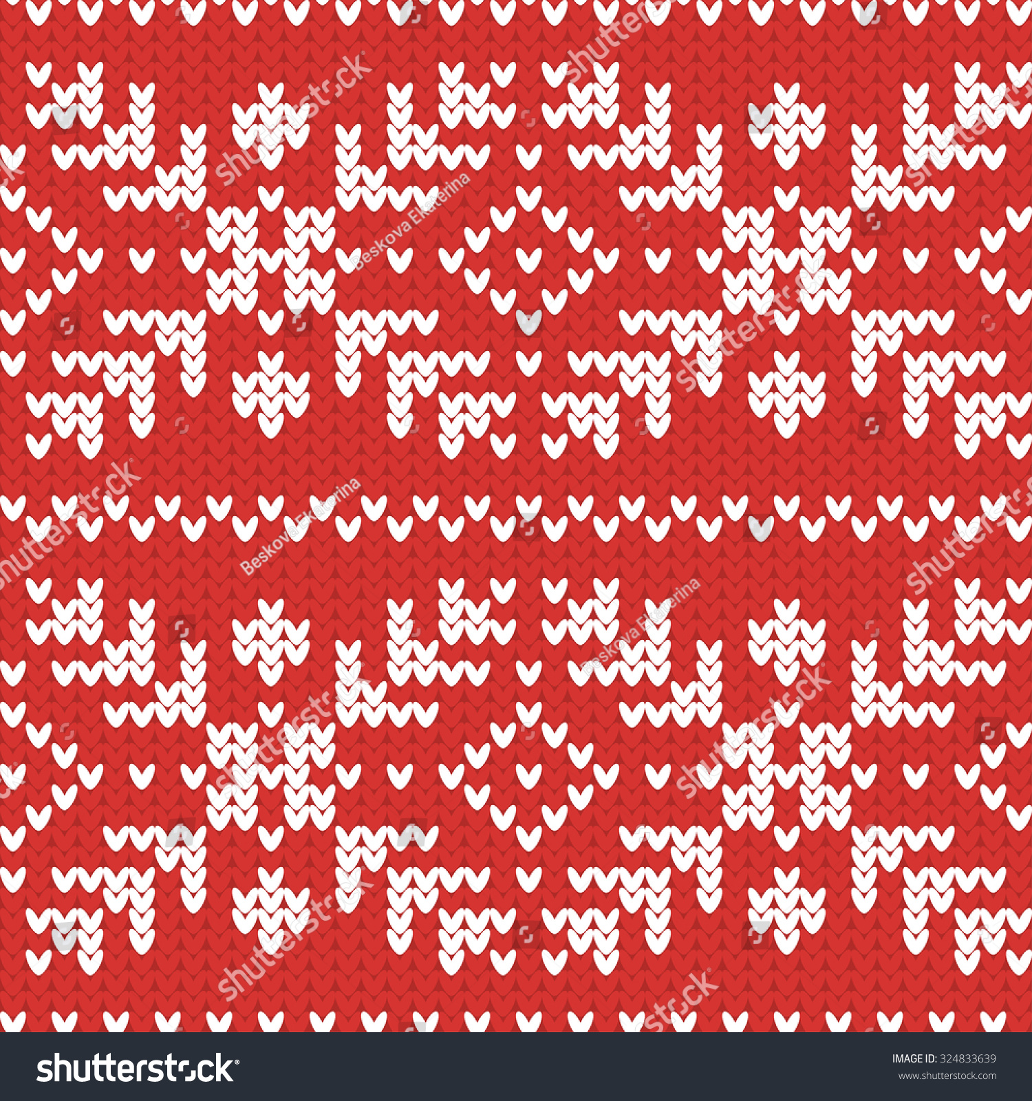 Fancy Knitted Snowflake Patterns Image - Sewing Pattern for Wedding ...