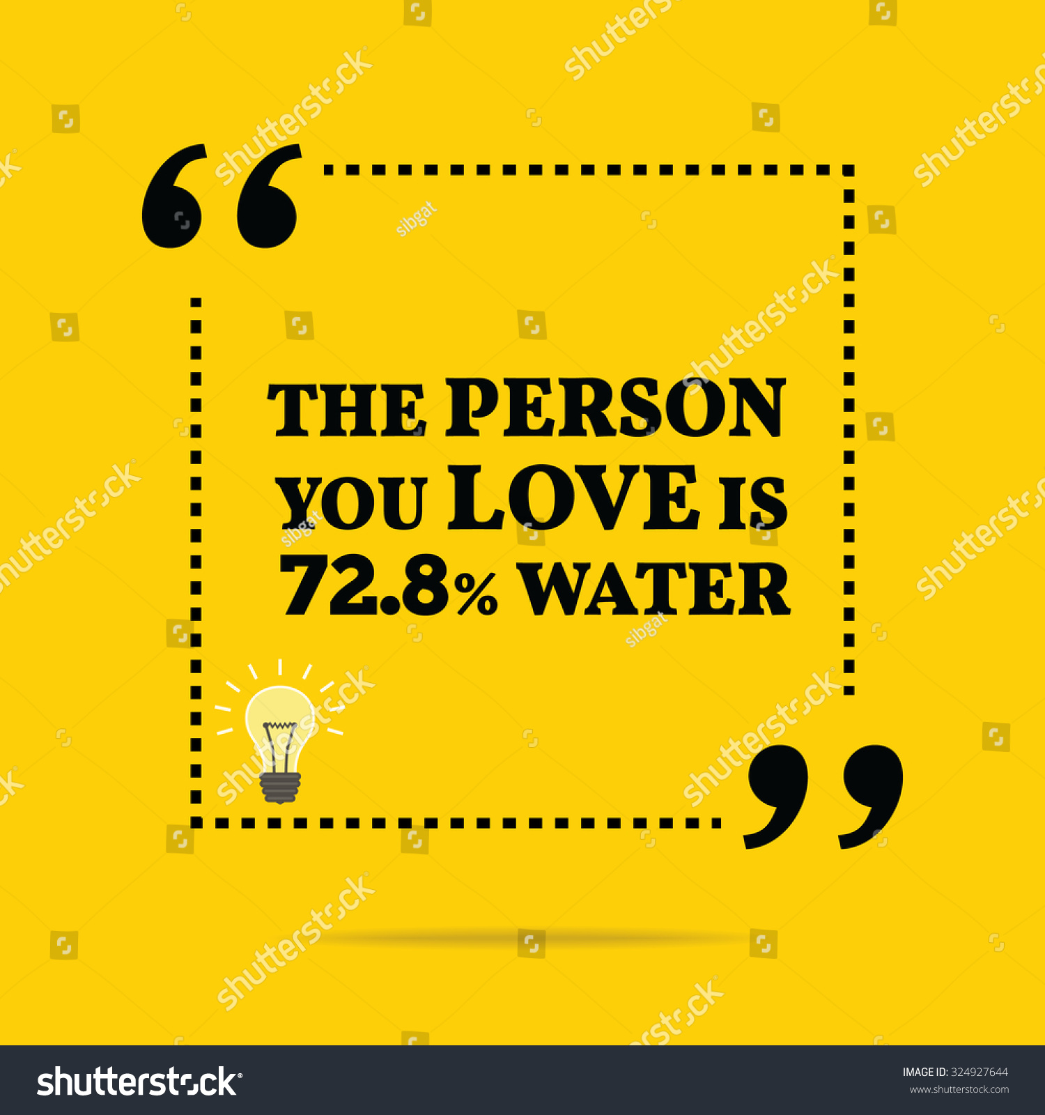 Simple Quotes About Love Funny Quote Person You Love 728 Stock Vector 324927644  Shutterstock