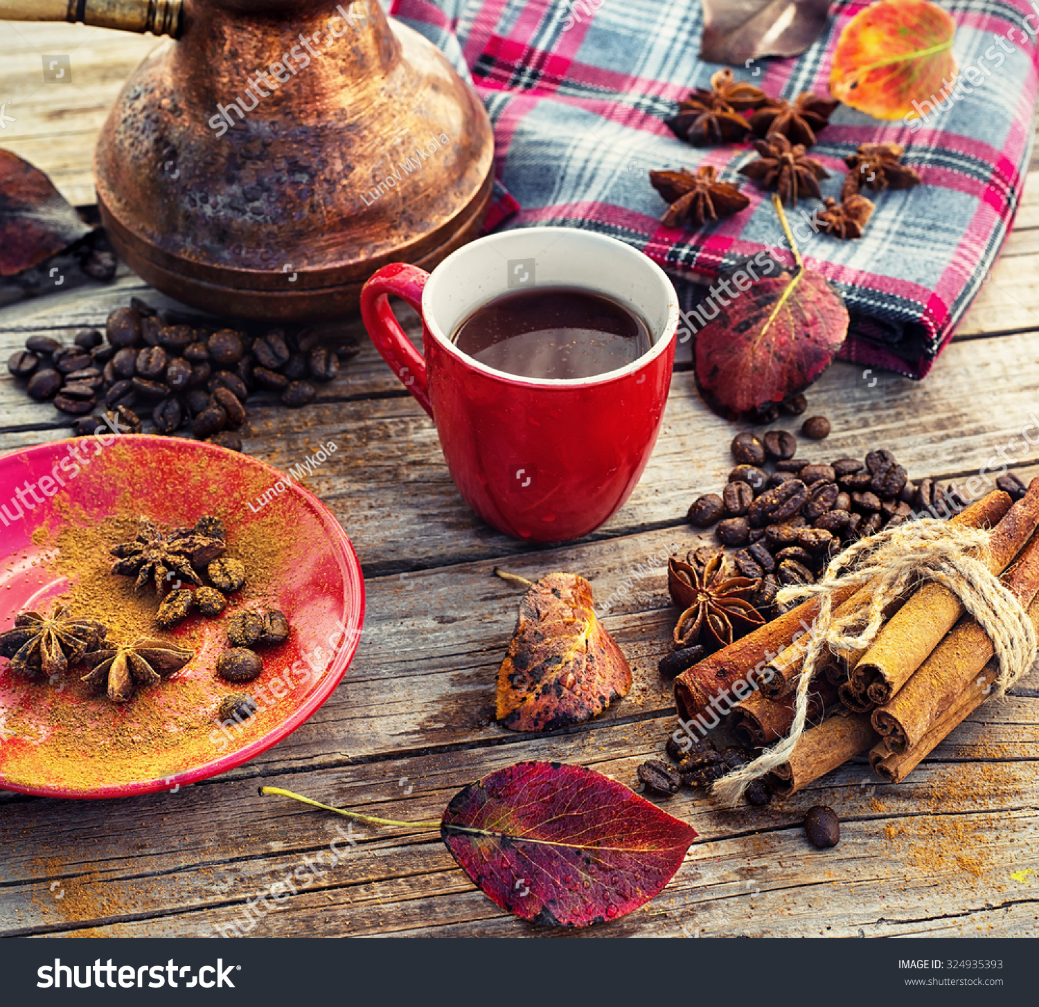 Coffee Fall Black Coffee Background Stock