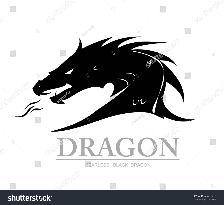 royalty free dragon black dragon dragon head 325044914 stock