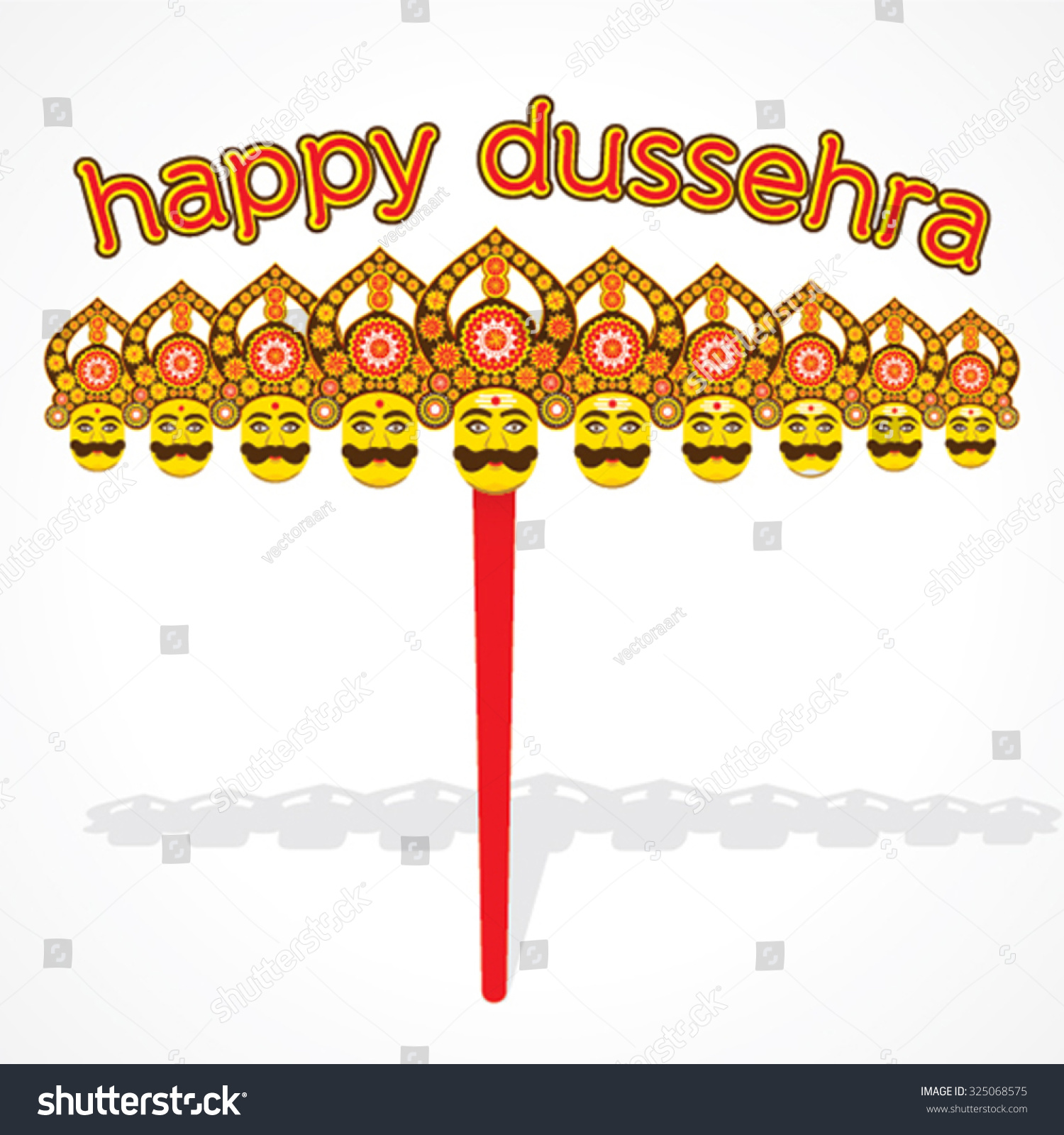 Happy dussehra festival greeting card poster stock vector 325068575 happy dussehra festival greeting card poster stock vector 325068575 shutterstock m4hsunfo