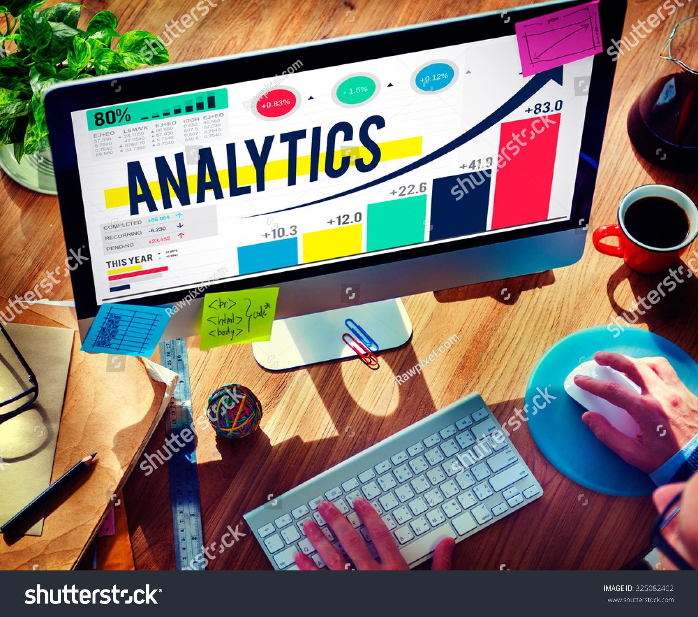 Analytics Analysis Data Statistics Technology Information Concept ...