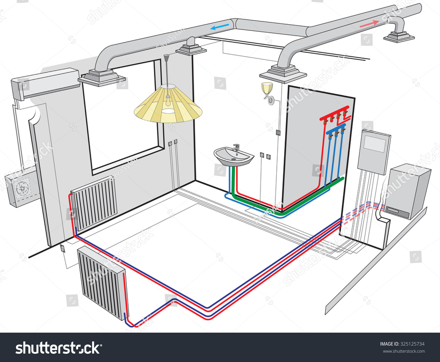 The ventilation system in the apartment: the types and features 32