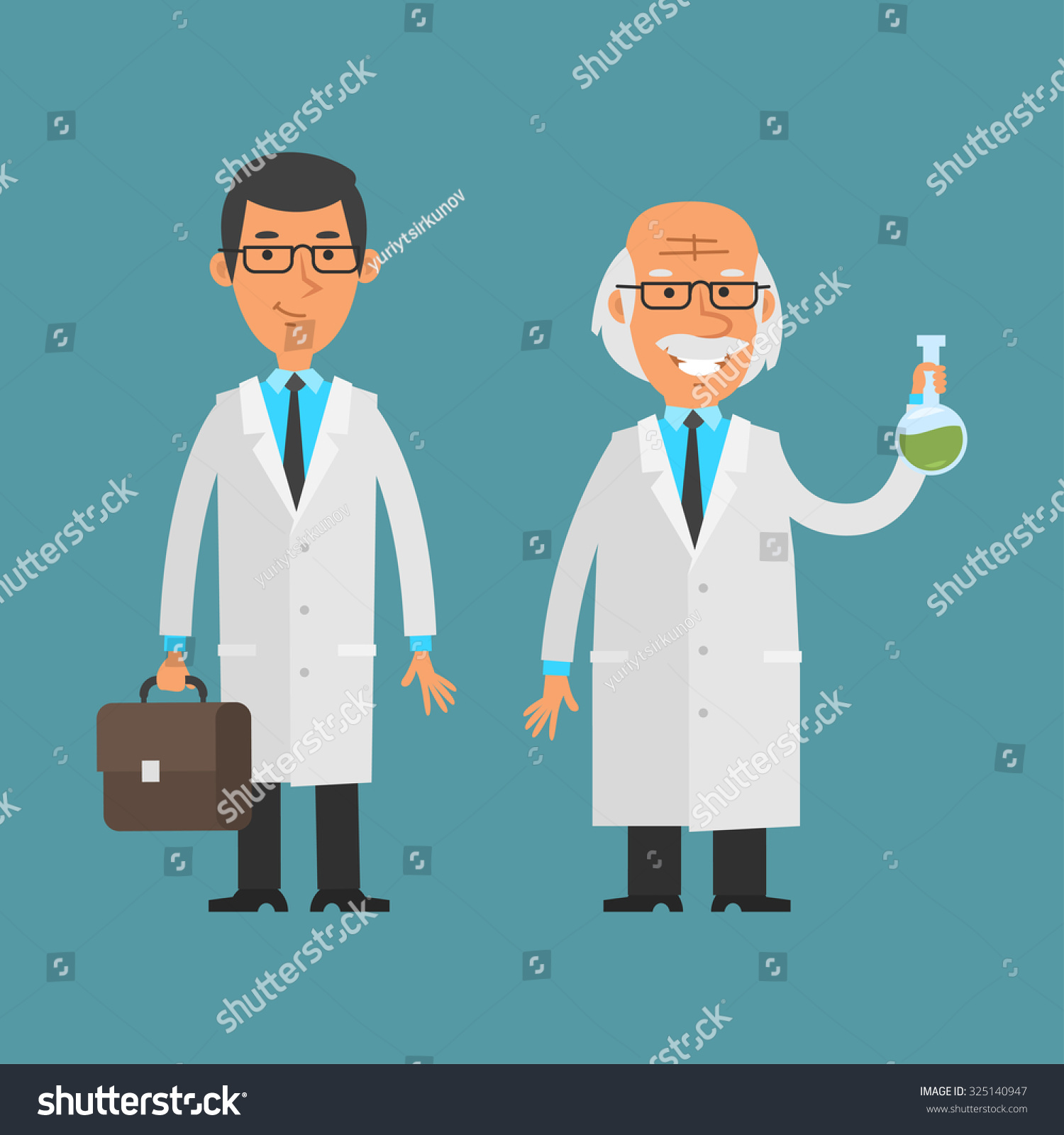 Young vs Experienced Chemist