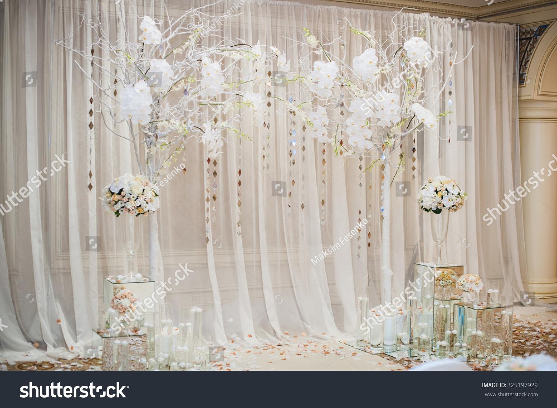 Wedding Ceremony Ideas Flower Covered Wedding Arch: Beautiful Wedding Ceremony Design Decoration Elements