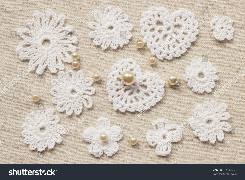 Royalty Free Linen Creative Cotton Irish Crochet 325364093 Stock