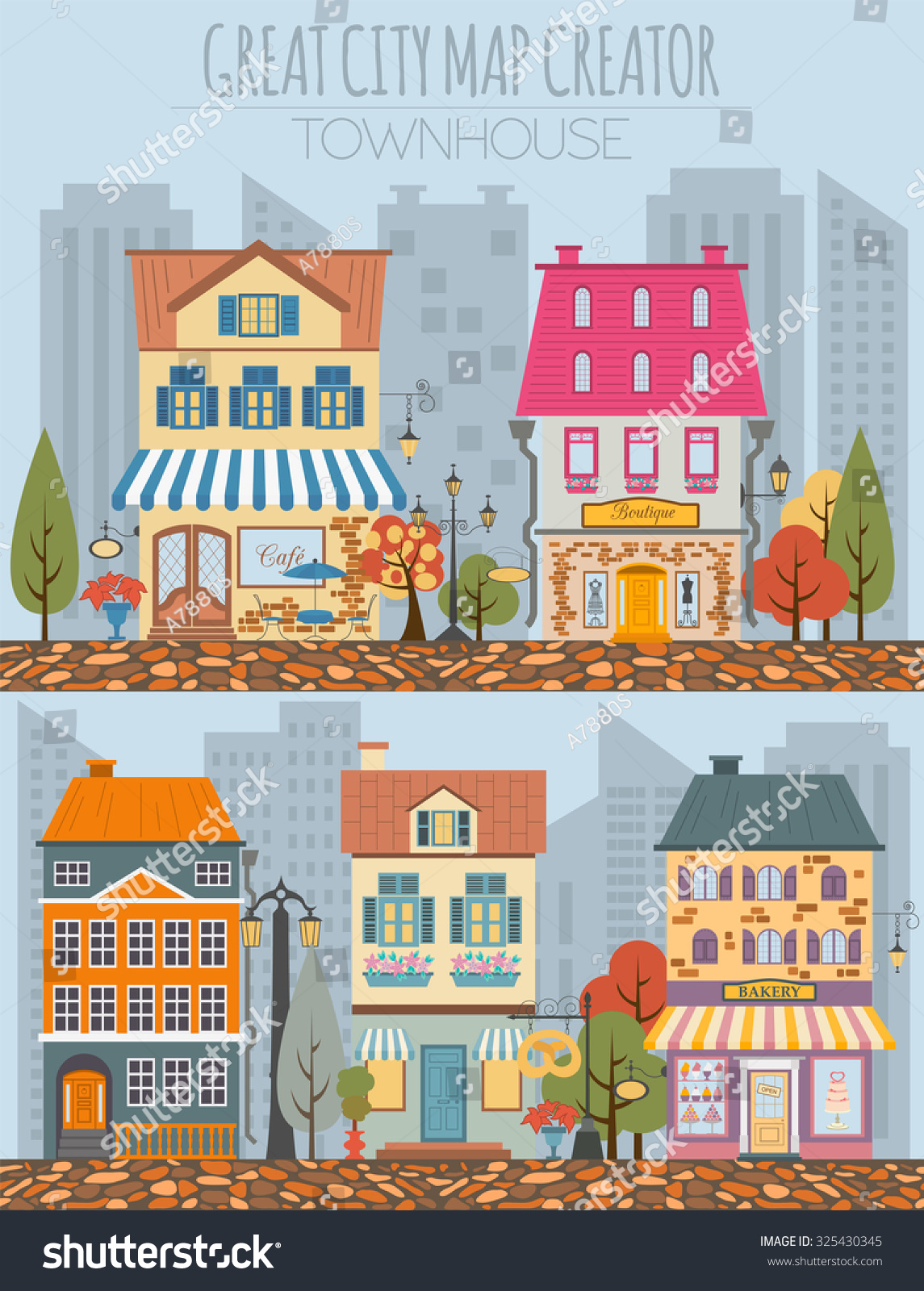 great city map creator house constructor house cafe restaurant shop - House Map Creator