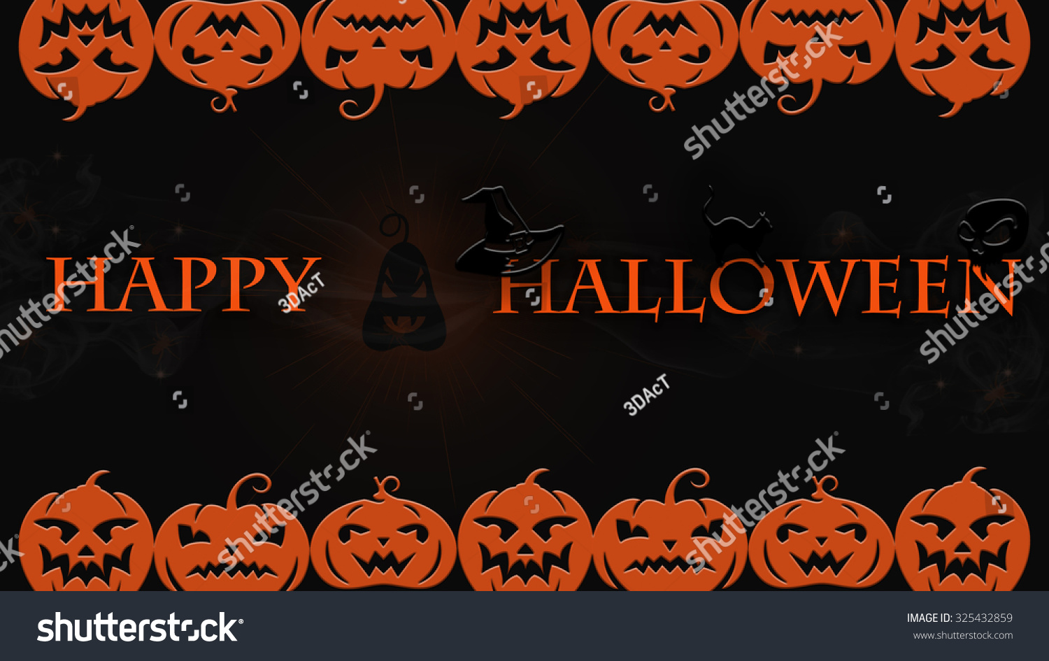 very high detail ultra definition halloween stock illustration