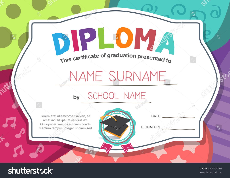 Kids Certificate Template