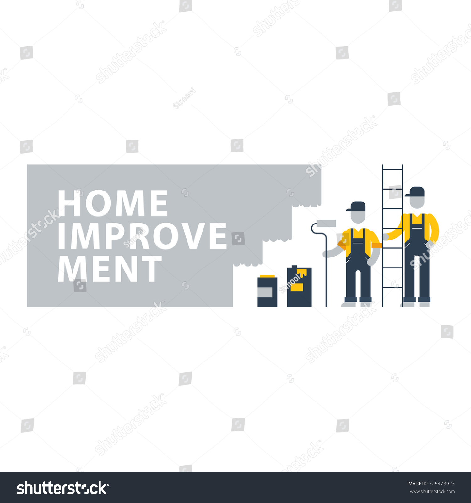 Home improvement renovation services house painting stock for House renovation services