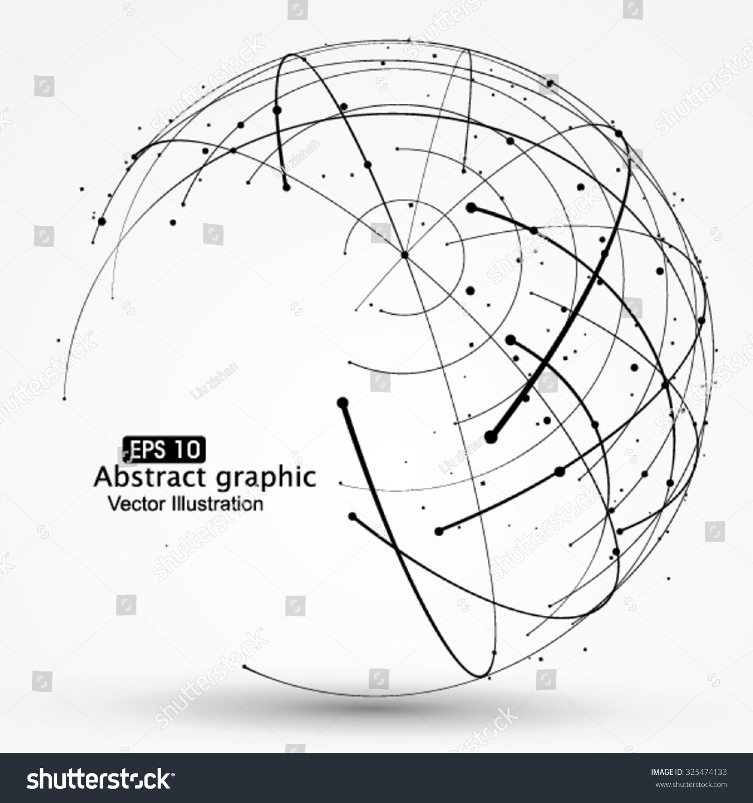 how to draw a wireframe on a sphere