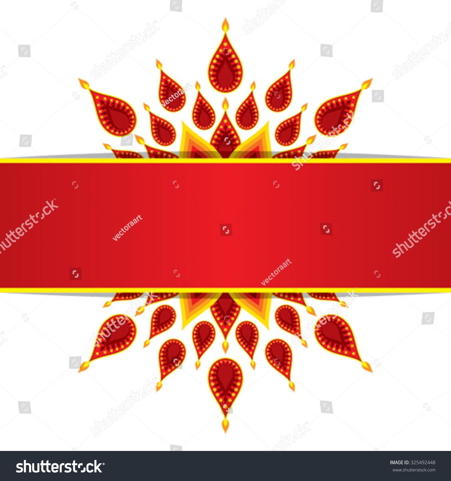Creative happy diwali greeting card design stock vector royalty creative happy diwali greeting card design vector m4hsunfo