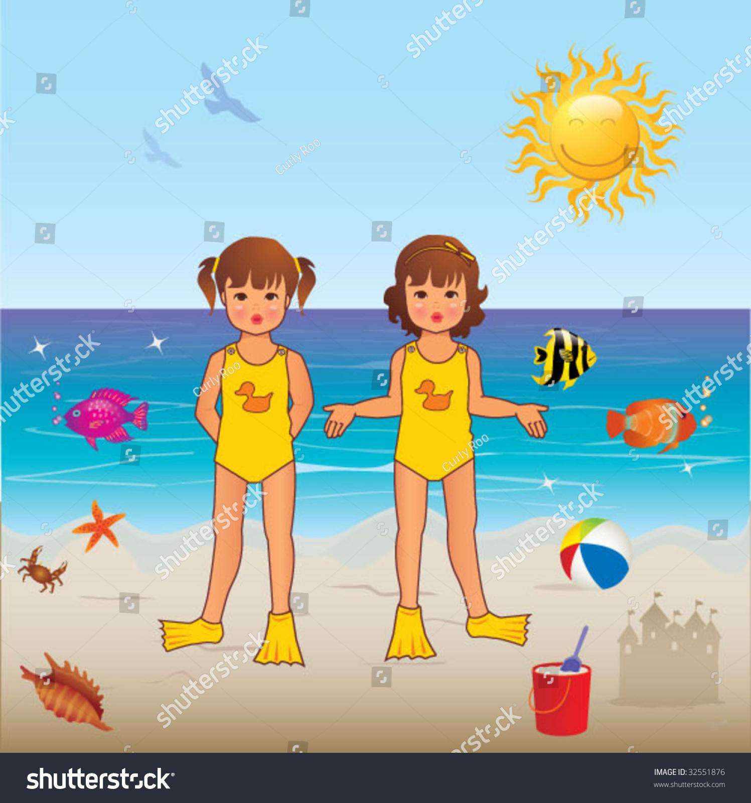Summer Season Stock Vector 32551876 - Shutterstock
