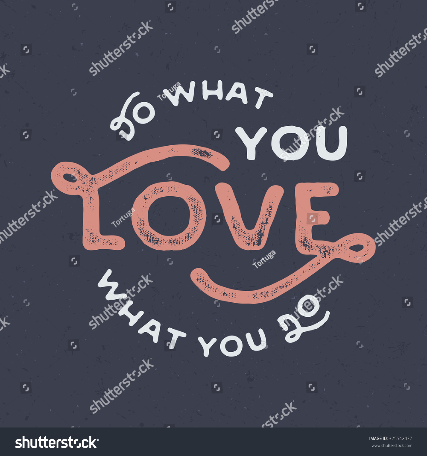 At T Stock Price Quote: Do What You Love Love What Stock Vector 325542437