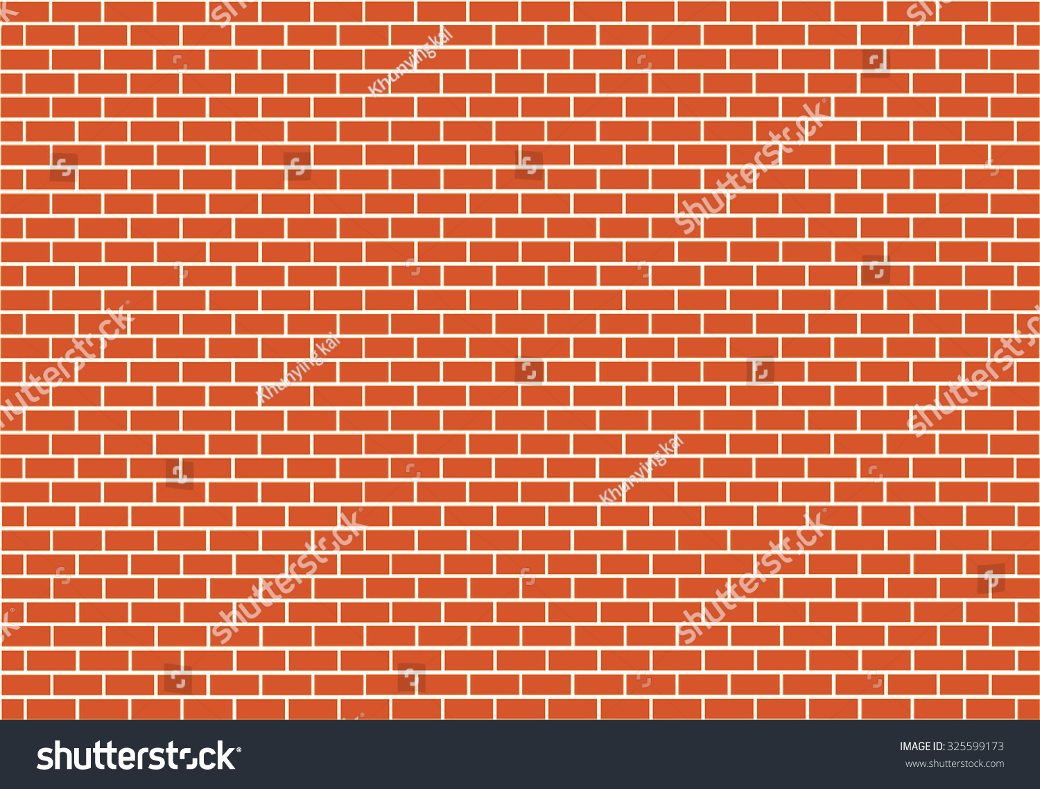 Brick Vector Picture Brick Veneers: Abstract Red Brick Vector Background Stock Vector