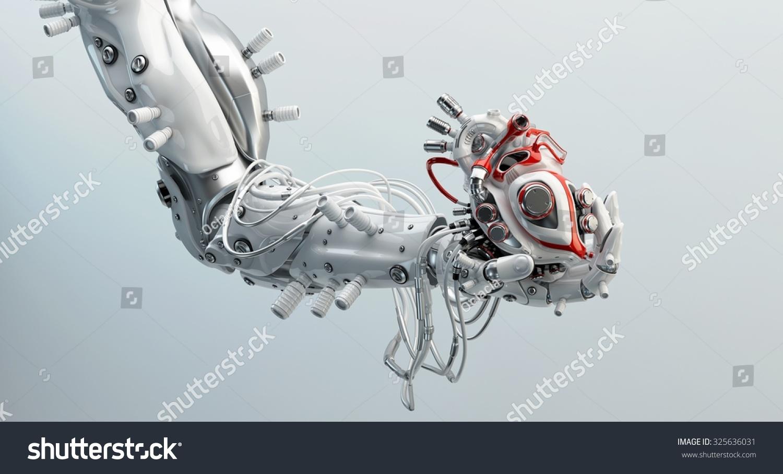 Robotic human left arm