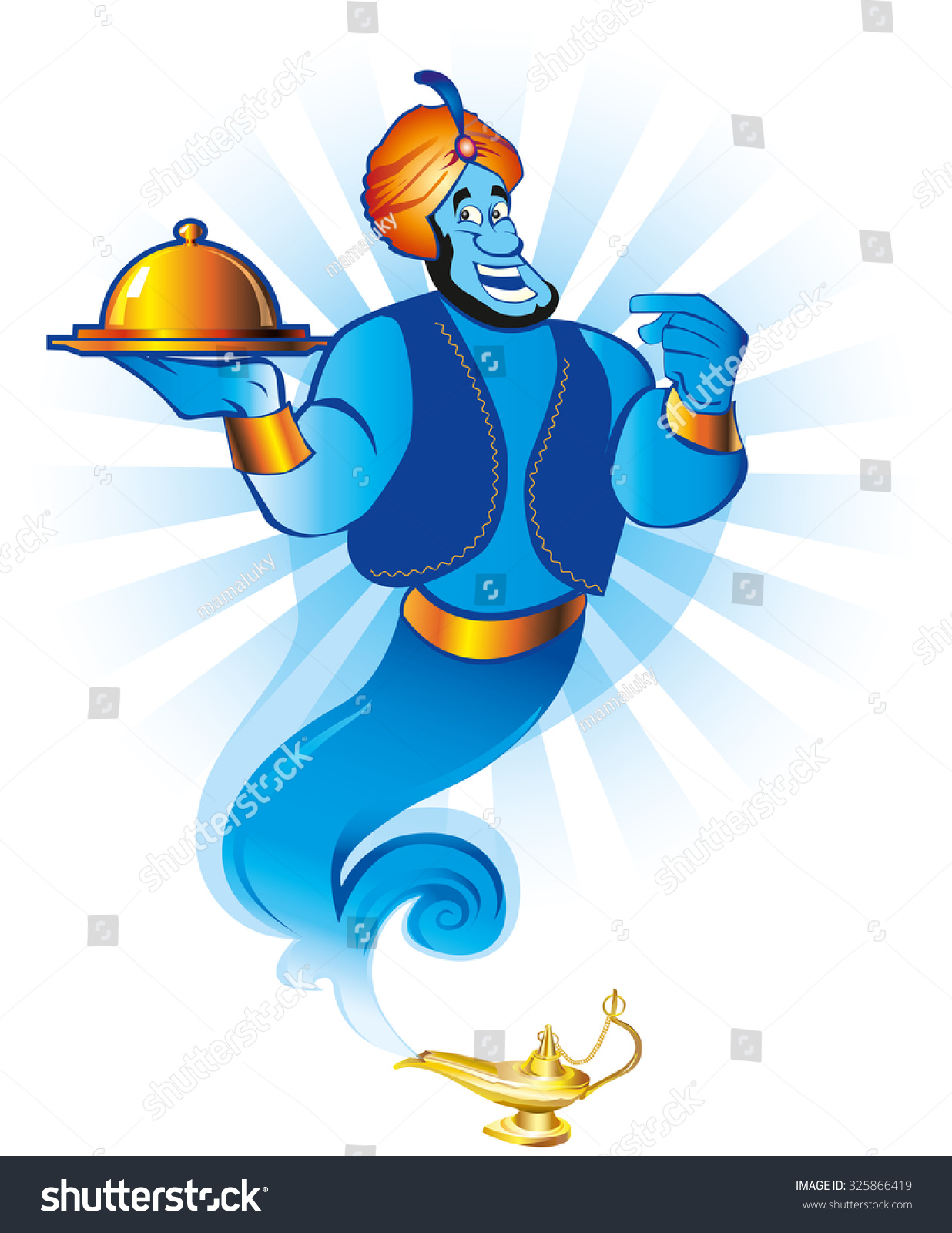 Genie Granted 3 Wishes