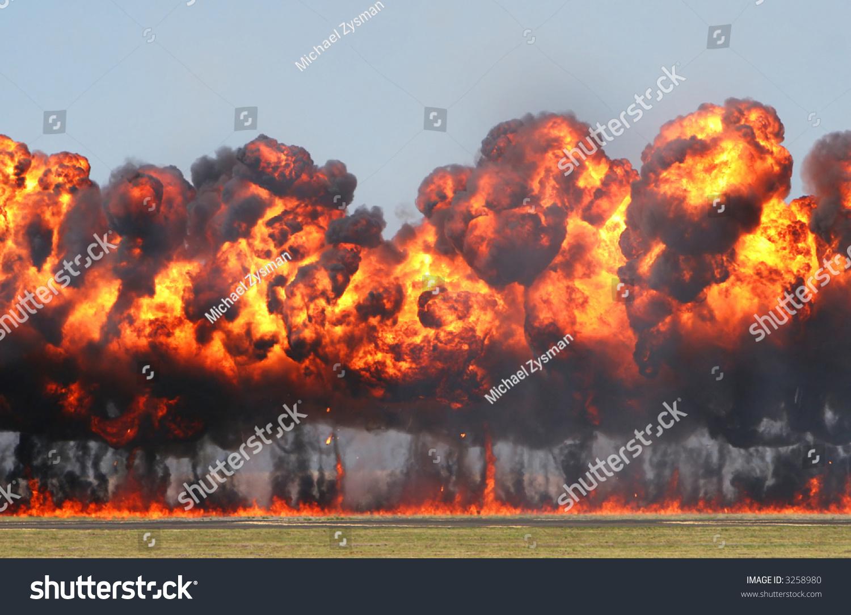 Vietnam War Napalm Explosion