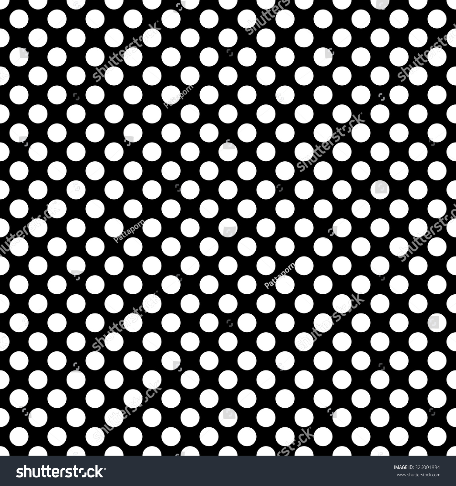 Black and white polka dot pattern - photo#21