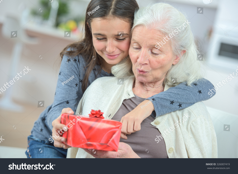 Фото для бабушки в подарок