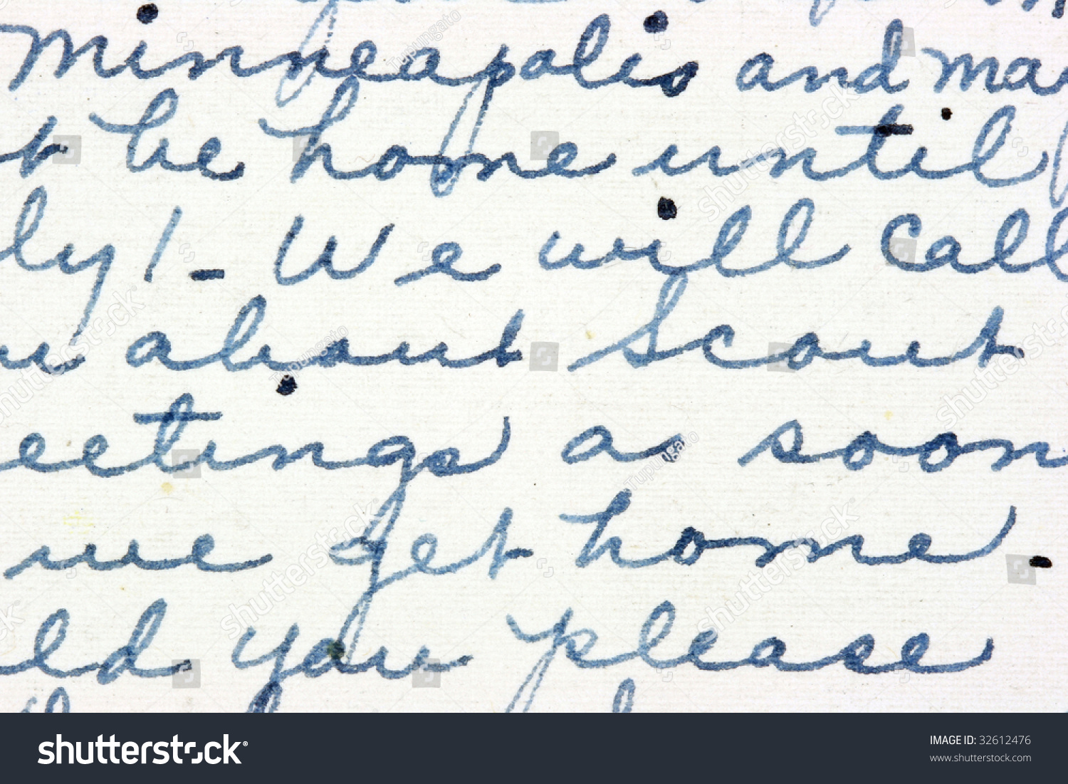 Vintage Hand Writing On A Letter Old Paper With Visible Structure Stock Photo Vintage Hand Writing On A Letter Old Paper With Visible Structure Pen Ink  Stock Photo Vintage Hand Writing On A Letter Old Paper With Visible Structure Pen Ink